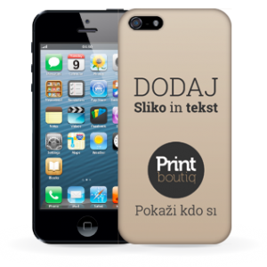Oblikuj si ovitek za Apple iPhone 5/5s TPU / silikon