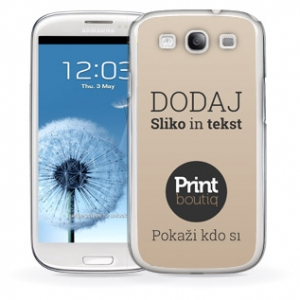 Oblikuj si ovitek za telefon Samsung Galaxy S3