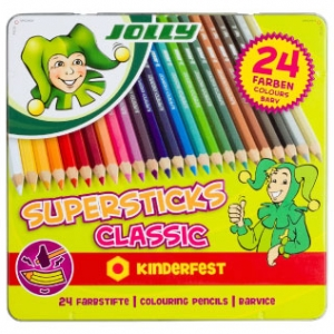 Barvice Jolly Supersticks Classic, 24 barv