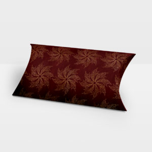 Darilna škatlica Gold Wind Flower- Pillow