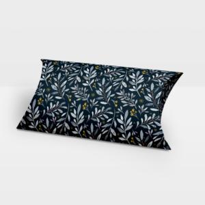 Darilna škatlica Dark Blue Nature - Pillow