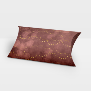 Darilna škatlica Gold Dots Premiun - Pillow