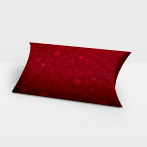 Darilna škatlica Love Heart Red - Pillow