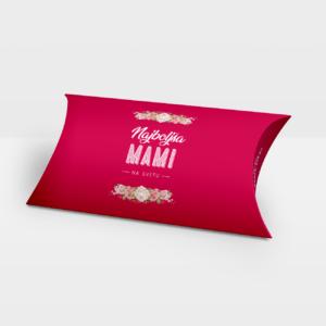 Darilna škatlica Mami, Roza - Pillow