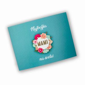 Darilna škatlica Mami, Turkiz - Polnilna postaja